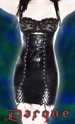 under bust corset dress